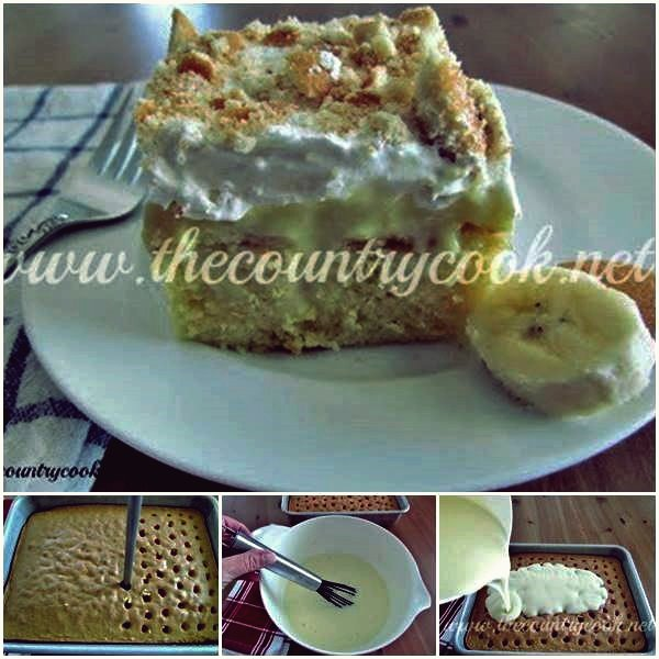 DIY Bananenpudding-Sack-Kuchen