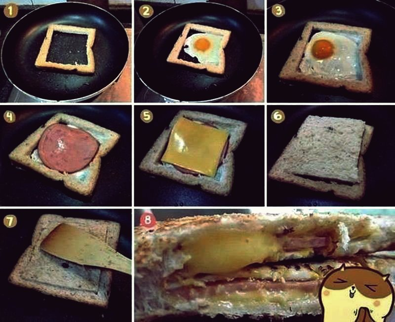 Kreative Ideen - DIY Easy Delicious Sandwich